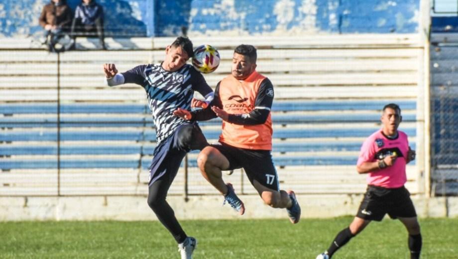 El duelo se disputó en cancha de Guillermo Brown. Gentileza Diario Jornada.