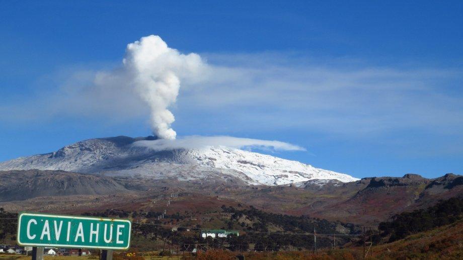 El volcán Copahue pasó esta semana a tener alerta técnico naranja. Foto: Archivo