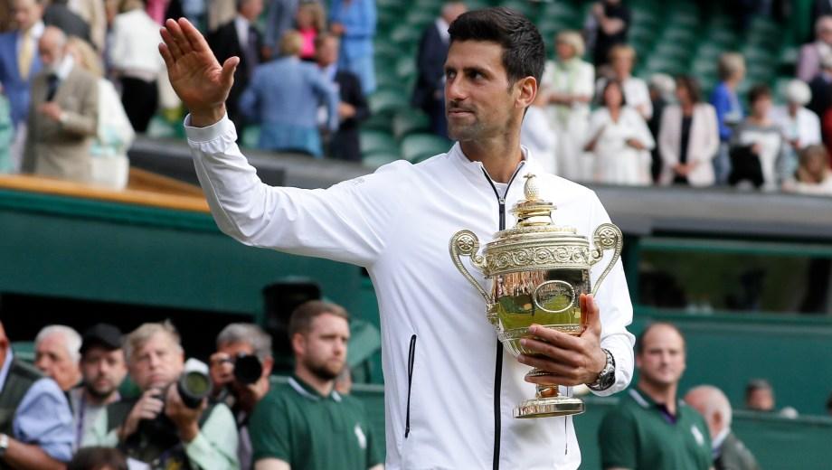 Djokovic venció a Federer