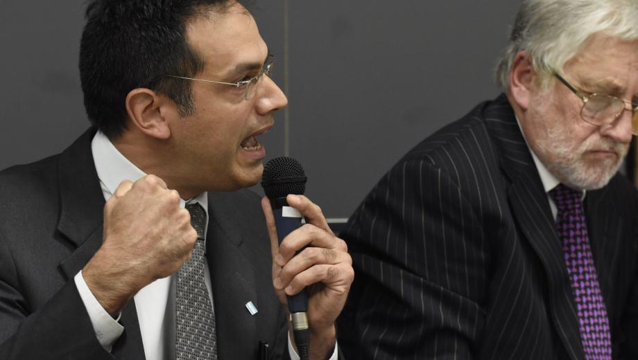 En el primer juicio, Rodríguez Lastra habló varias veces para defenderse. (Archivo)
