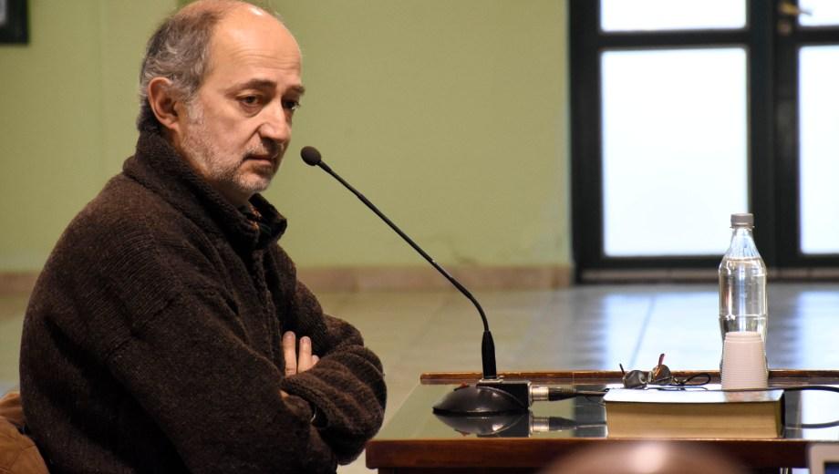 Horacio Herman declaró ayer sobre la desaparición de su hermano. (Florencia Salto)