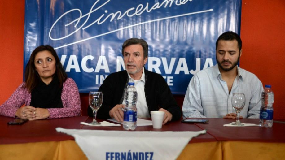 El dirigente Fernando Vaca Narvaja oficializó la baja de su candidatura esta mañana. Foto: archivo