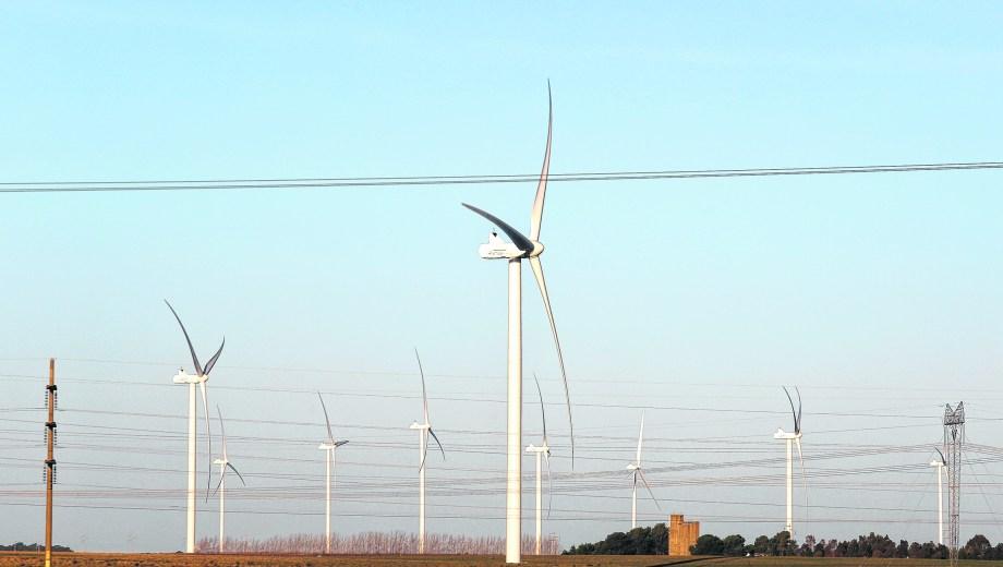 Pampa Energía inauguró el parque eólico Pampa Energía II en Corti, a 20 kilómetros de Bahía Blanca.