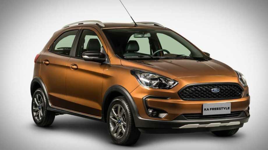 Ford Ka, el más vendido entre los vehículos livianos.