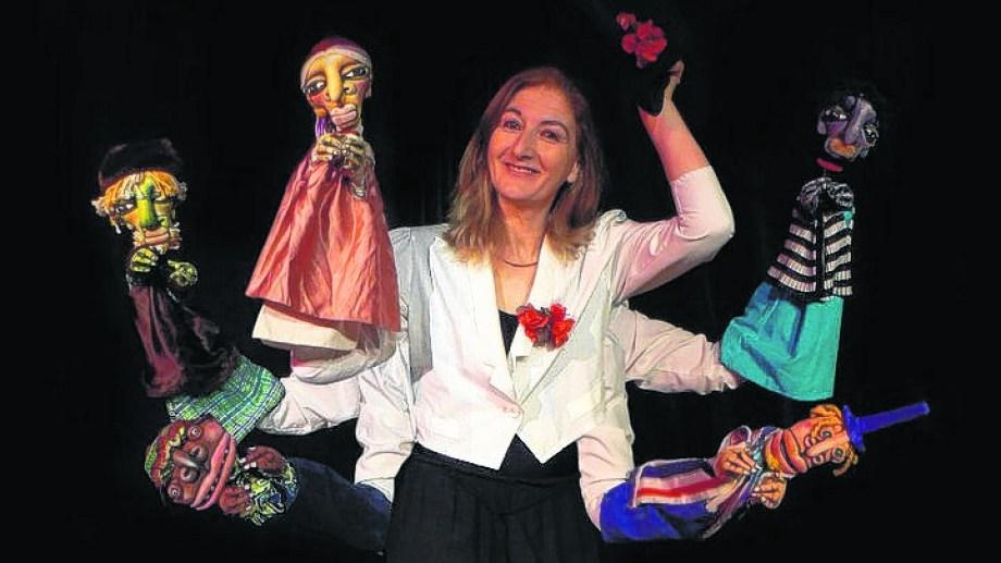 """""""Música para girasoles"""", el espectáculo creado y protagonizado por Fernanda Archanco y los hermanos Cuqui y Renzo Álvarez."""