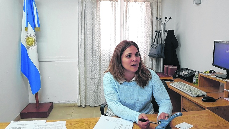 Georgina Garro, jueza de Paz de Catriel. Actuó con celeridad y tomó la denuncia que otros eludieron.