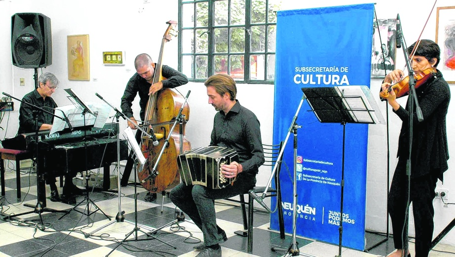 El cuarteto que ya es conjunto estable del ministerio de las Culturas será la base de la futura orquesta. (Foto: Gentileza)