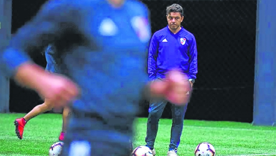 Marcelo Gallardo tiene por delante la primera prueba fuerte de la temporada.