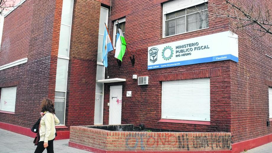 Ministerio Público Fiscal de Cipolletti. Foto: Juan Thomes