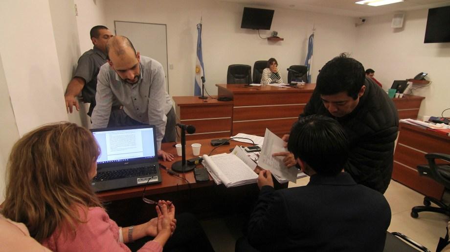 La audiencia se realizó esta tarde en la Ciudad Judicial. Foto: Oscar Livera
