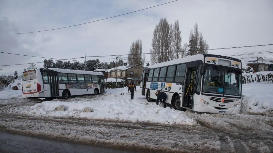 La empresa Amancay SRL (Mi Bus) presta desde hace más de 3 años el servicio de transporte público de pasajeros en Bariloche. Archivo