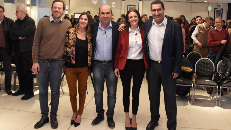 El acuerdo posiciona a Maletti como segunda candidata a concejal en la lista. (Foto: Juan Thomes)
