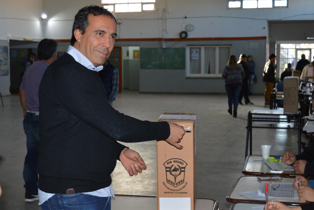 Miguel Martínez ganó las elecciones municipales de Huergo