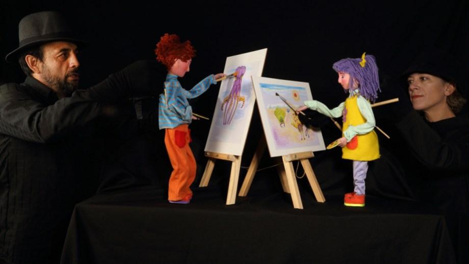 """El Teatro de Títeres de Fundación Cultural Patagonia sigue con sus """"Viajes y colores""""."""