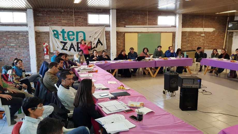 El plenario se realizó en Zapala. Foto: Gentileza