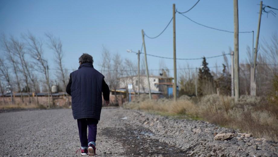 El barrio es el tercero más extenso de toda la capital neuquina. Foto: Florencia Salto.