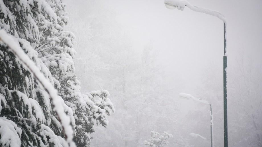 Seguirá nevando en la cordillera hasta el lunes.  Foto: Patricio Rodríguez