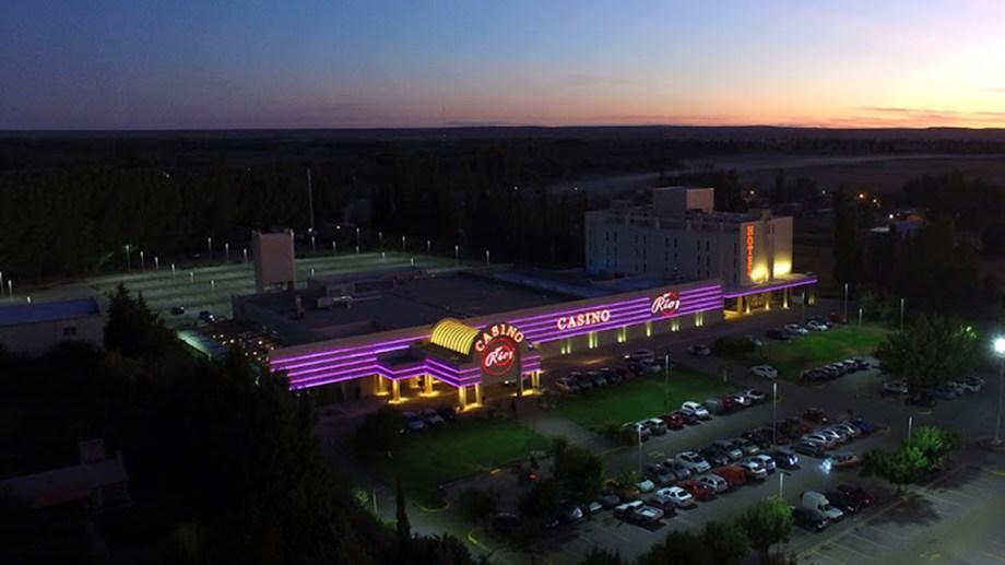 El predio de Casino del Río, a la vera de la Ruta 22. (Foto: Archivo)