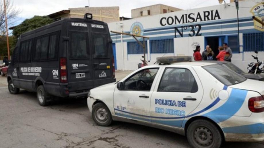El policía que murió en una comisaría de Cipolletti tenía problemas cardíacos. (Foto: Archivo)
