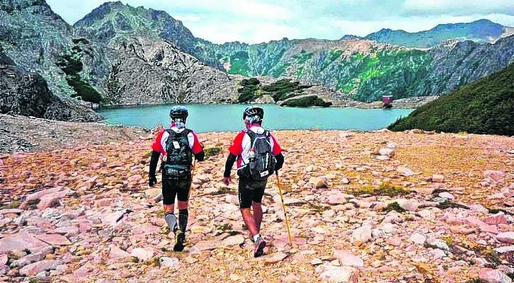 La 4 Refugios que organiza el Club Andino es un clásico del verano en Bariloche. Foto: archivo