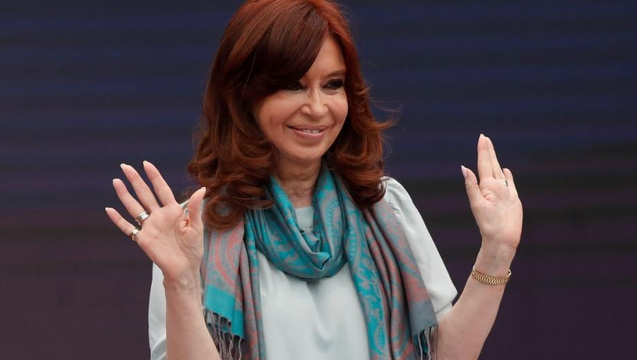 Cristina Fernández de Kirchner. Foto: Archivo.