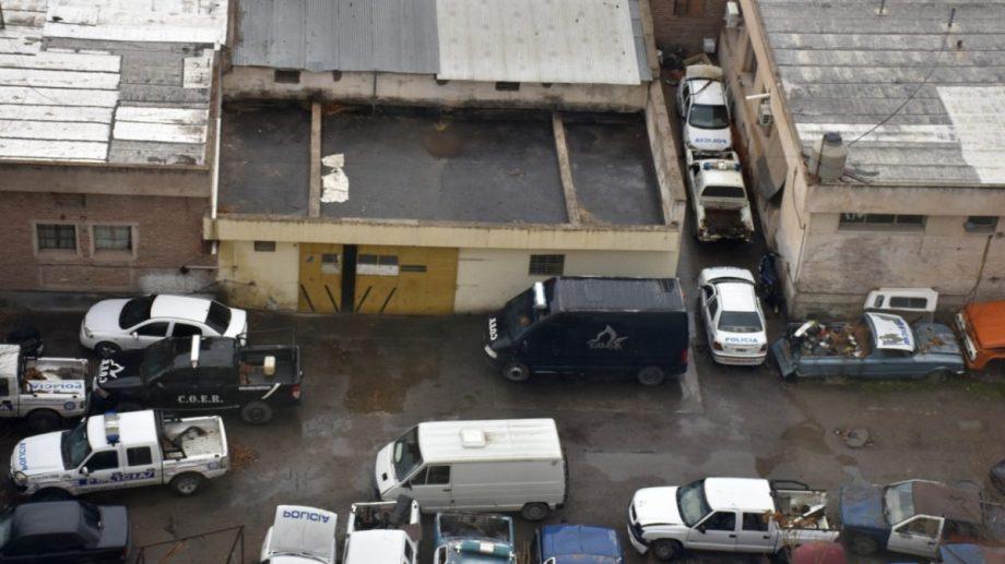 Actualmente, unos 40 vehículos están en el taller de la policía. (Foto: César Izza)