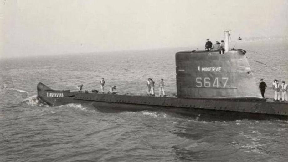 """El submarino """"La Minerve"""".  Foto: Francetvinfo.fr"""