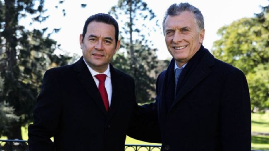 Foto:  A principios de mes, Macri y Morales habían formalizado la transacción para las primeras exportaciones de los aviones Pampa III, por un monto de 28 millones de dólares.