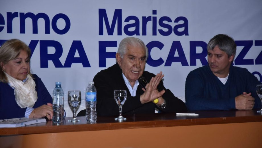 Pereyra busca ser reelecto como senador por el MPN. Foto gentileza.