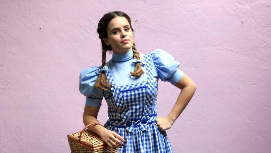 """Sofi Morandi es Dorothy en la nueva versión teatral de """"El mago de Oz""""."""