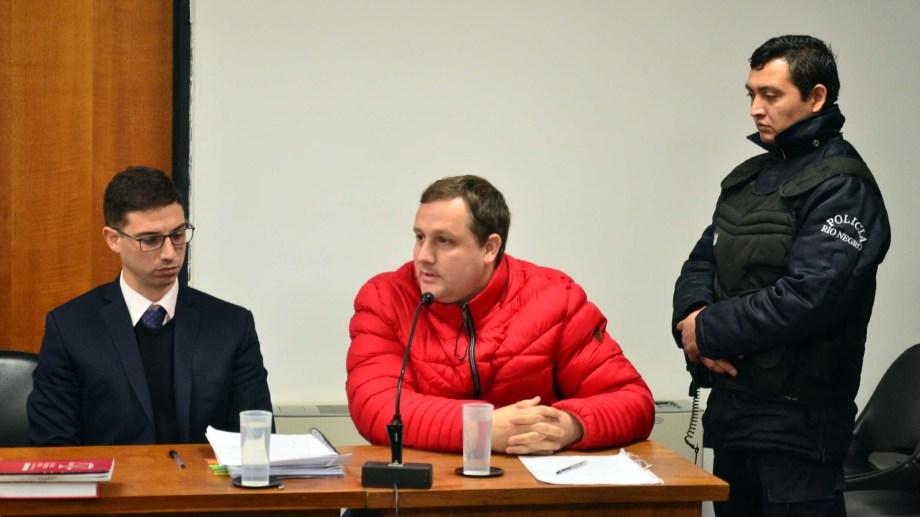 El juicio contra Galiano en 2019 por falsificación de documentos públicos. Foto: Marcelo Ochoa.