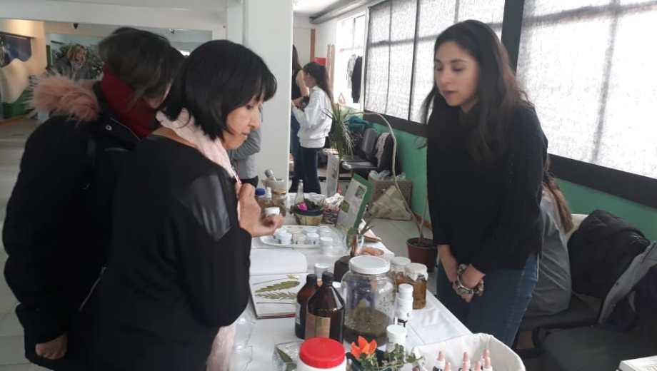 La muestra se llevó a cabo en el hall del Centro Administrativo Provincial. Foto: gentileza