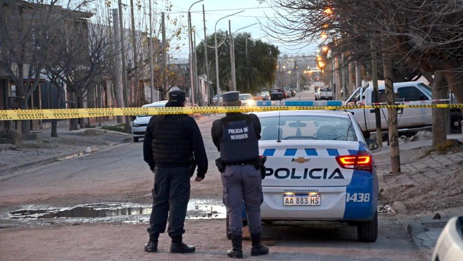 El tiroteo sucedió esta mañana en el barrio San Lorenzo. (Foto: Archivo.-)