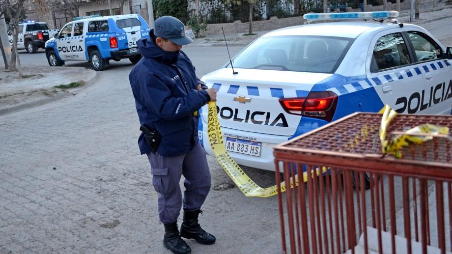 Quirulef falleció alrededor de las 16:30 y a esa hora detuvieron a un sospechoso. (Foto: Mauro Pérez.-)