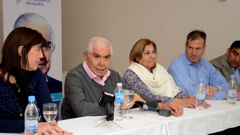El senador Guillermo Pereyra competirá por su reelección en las elecciones del domingo. Foto: archivo.