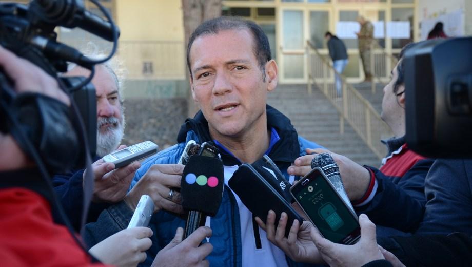 El gobernador Omar Gutiérrez. Foto: Mauro Pérez
