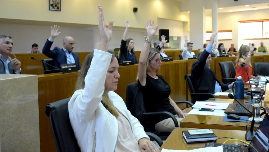 En la sesión se aprobó la paridad de género para los reemplazos porque el bloque de Cambiemos estaba de acuerdo. Foto: Archivo Mauro Pérez