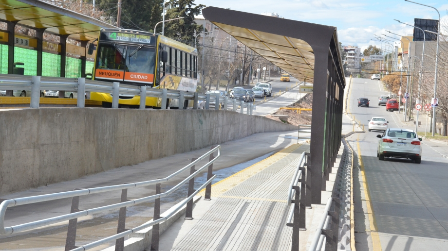 El Metrobús quedó inaugurado el sábado sin acto oficial. (Foto: Yamil Regules)