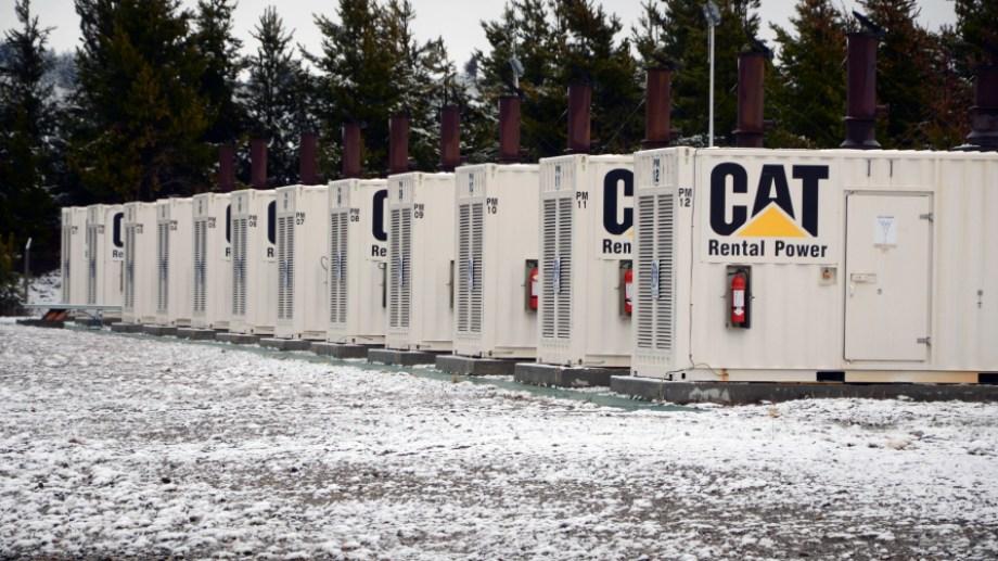 La central modular de abastecimiento eléctrico para Bariloche, Termo Córdoba (ex-SoEnergy). Foto: Alfredo Leiva