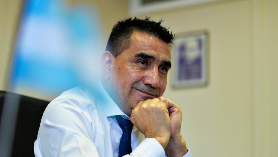 El ex intendente de Cutral Co, Ramón Rioseco. Foto: Archivo