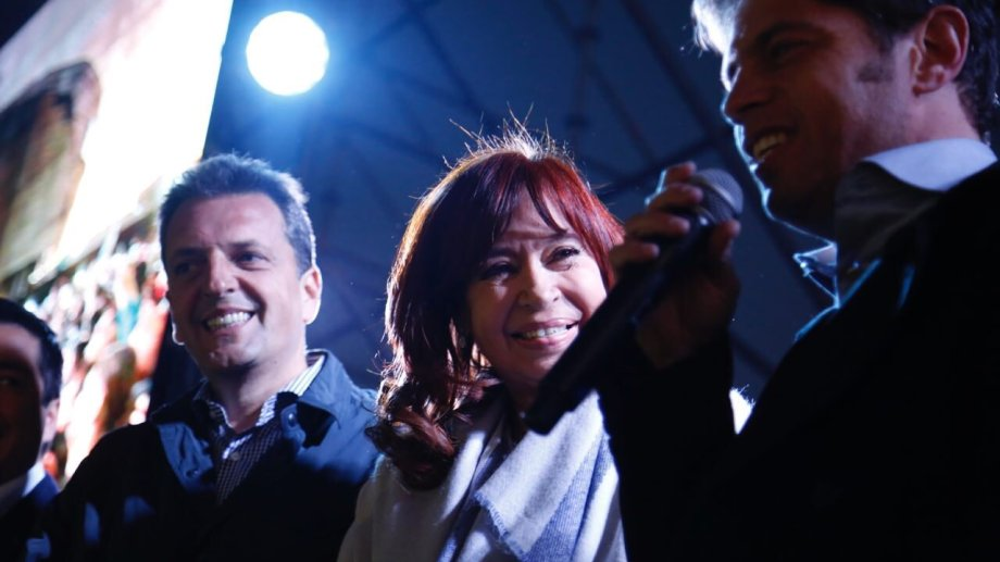 Sergio Massa y Cristina Fernández juntos nuevamente. Foto: Twitter @CFKArgentina