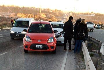 Choque en cadena provocó un caos sobre la Ruta 7 en Neuquén