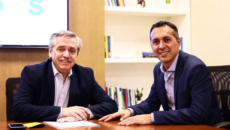 Alberto Fernández recibió a varios candidatos del interior del país.