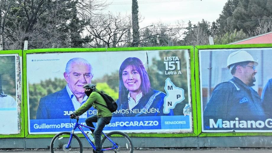 En poco más de dos meses los equipos deberán intensificar la campaña del corte de boleta. (Juan Thomes).-