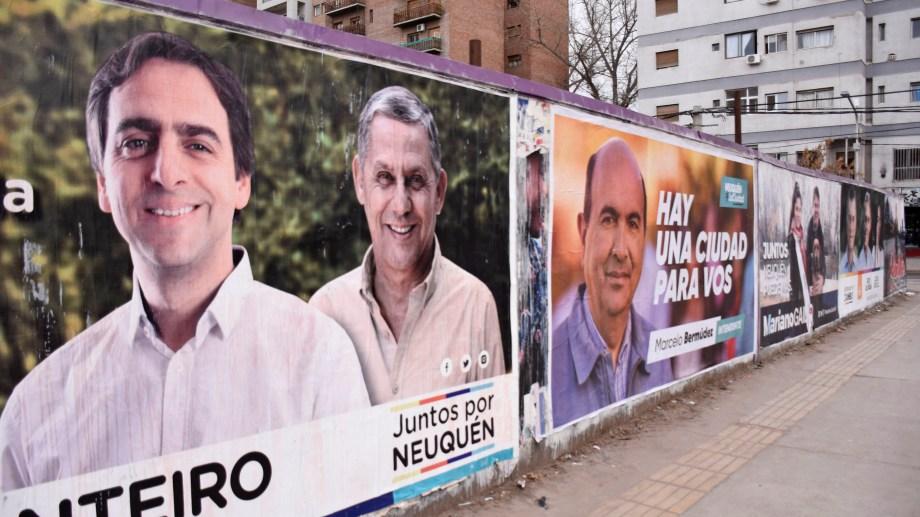 Horacio Quiroga dijo que le había dicho a Juan Monteiro que si quiere ser candidato que no use su imagen. Foto Juan Thomes