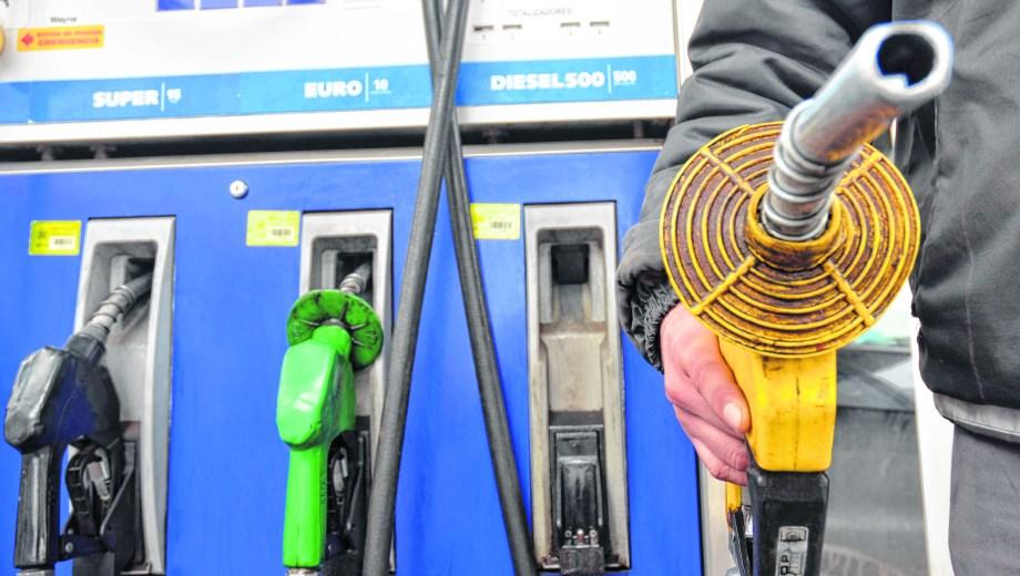 El mercado mayorista de los combustibles representa un 17% de todo el mercado. Foto: Archivo