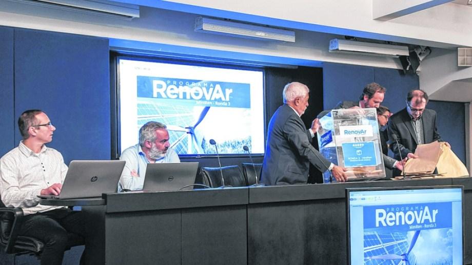 Se otorgó el 64,77% de los 400 MW que el gobierno nacional había destinado para la tercer ronda del RenovAr