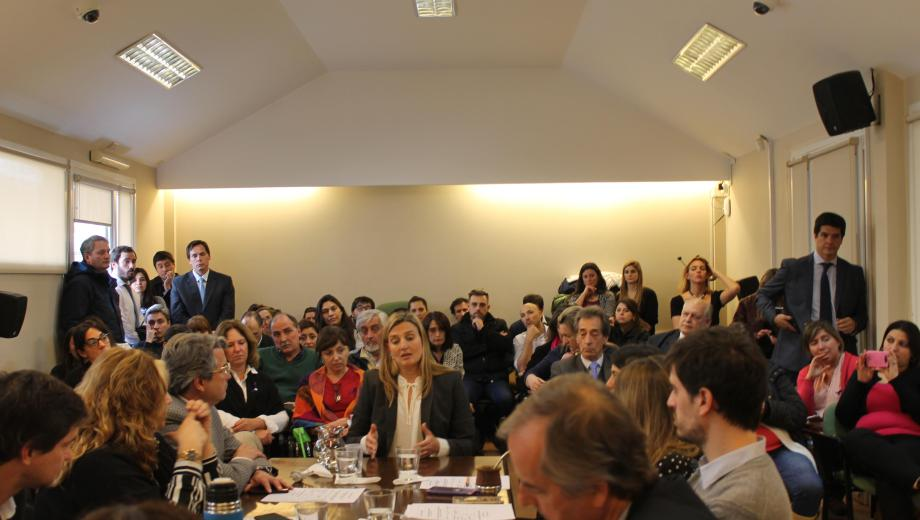 El Consejo de la Magistratura se reunió ayer en Bariloche y designó nuevos jueces de Juicio. (Gentileza)