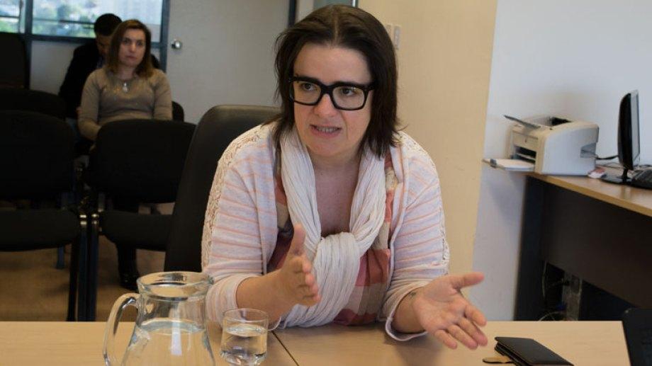 Leticia Lorenzo, la jueza de Garantías de Zapala autora del famoso acróstico en una sentencia. Foto: Archivo