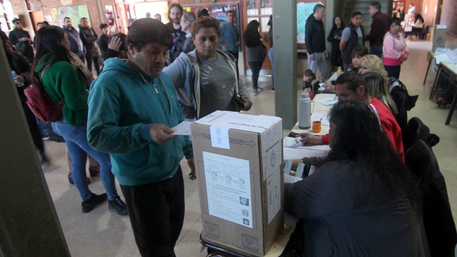 En Neuquén los resultados de las PASP fueron favorables para el Frente de Todos. (Oscar Livera).-